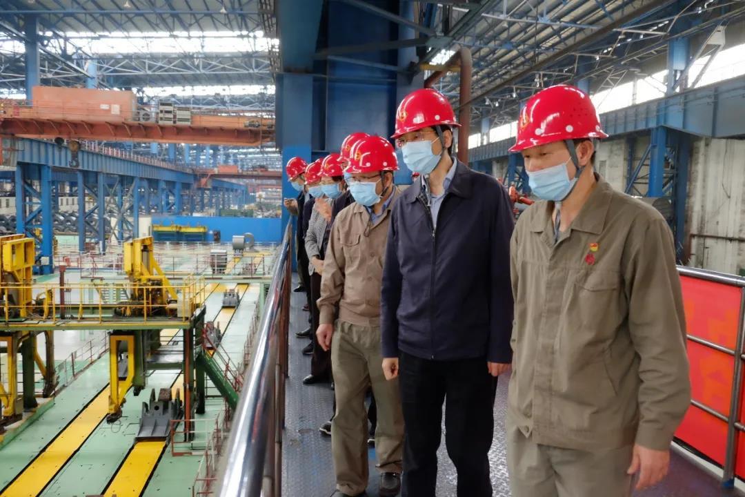 自治区总工会领导来柳调研复工复产情况充分发挥产业工人作用